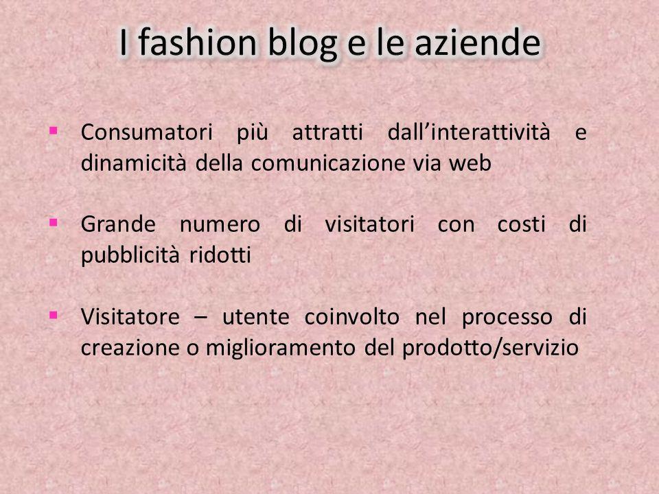 I fashion blog e le aziende