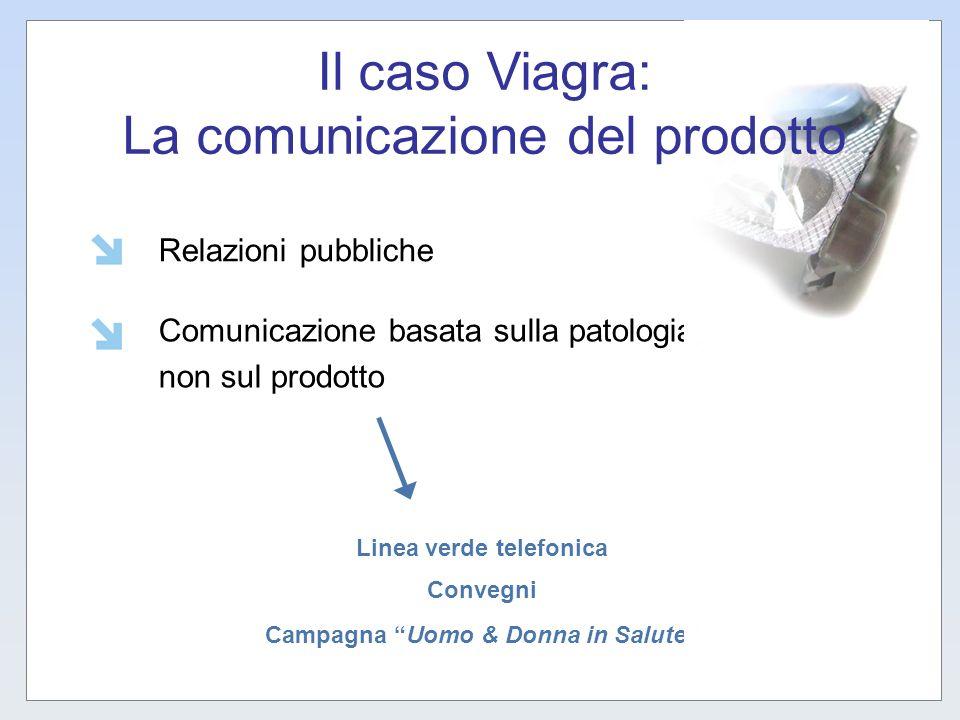 Il caso Viagra: La comunicazione del prodotto