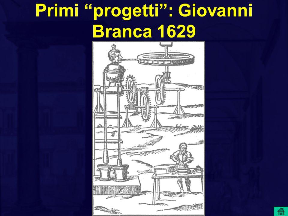 Primi progetti : Giovanni Branca 1629