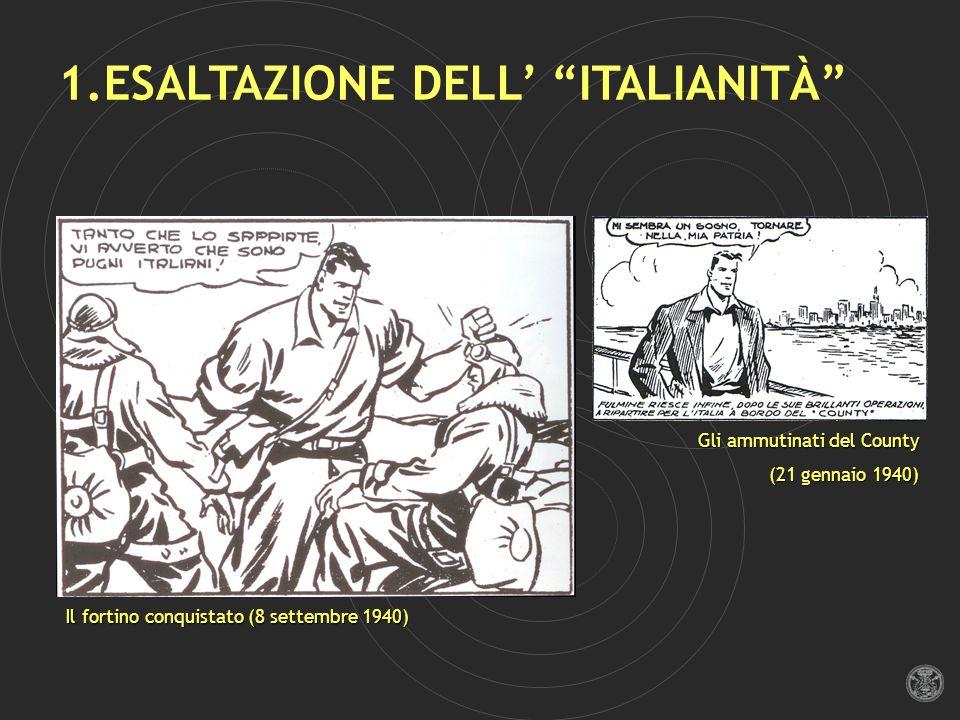 1.ESALTAZIONE DELL' ITALIANITÀ