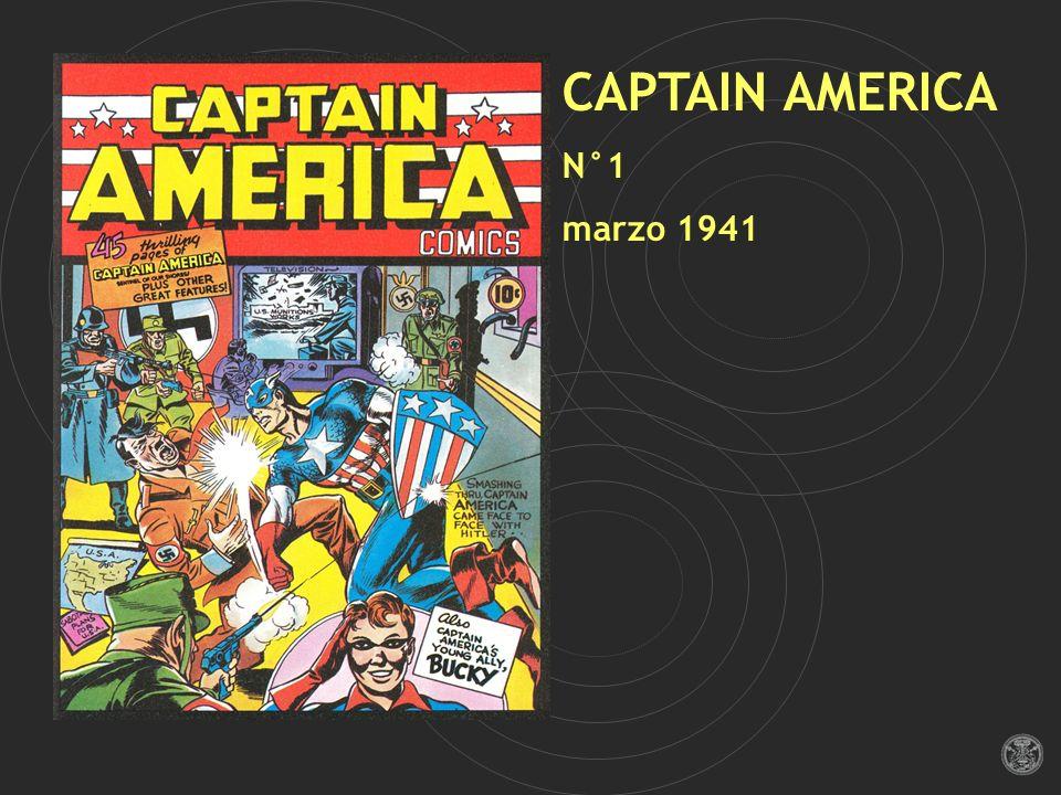 CAPTAIN AMERICA N°1 marzo 1941