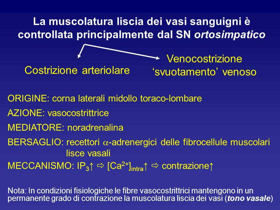 Costrizione arteriolare
