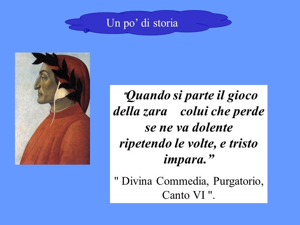 Divina Commedia, Purgatorio, Canto VI .
