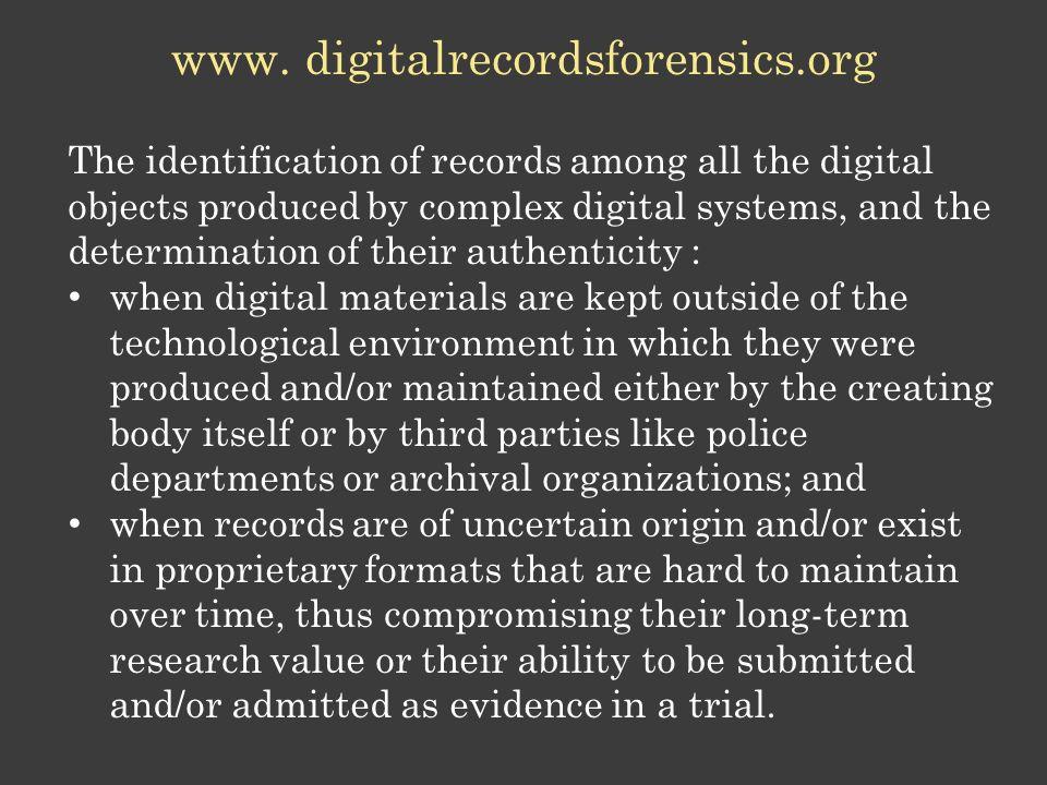www. digitalrecordsforensics.org