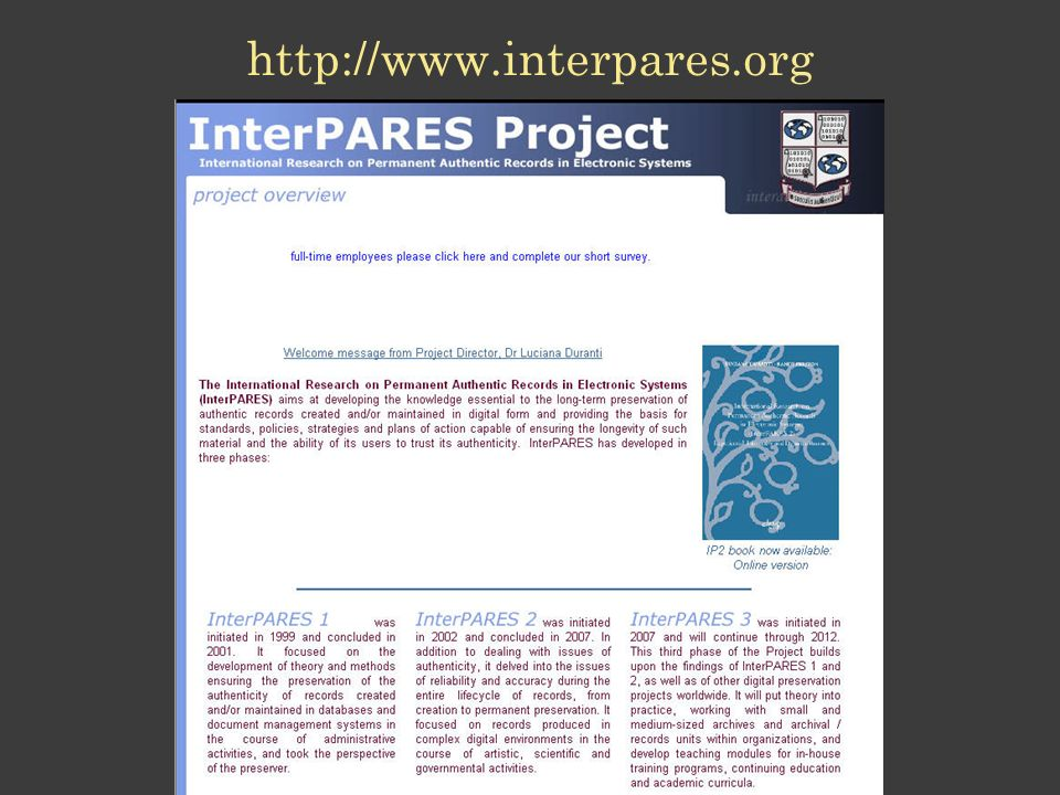http://www.interpares.org