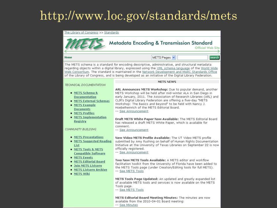 http://www.loc.gov/standards/mets