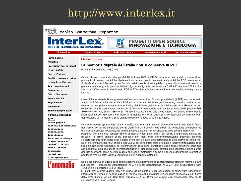 http://www.interlex.it 79 79