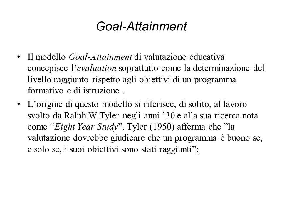 Goal-Attainment
