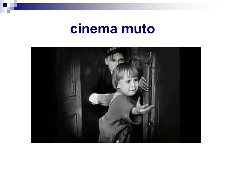 cinema muto