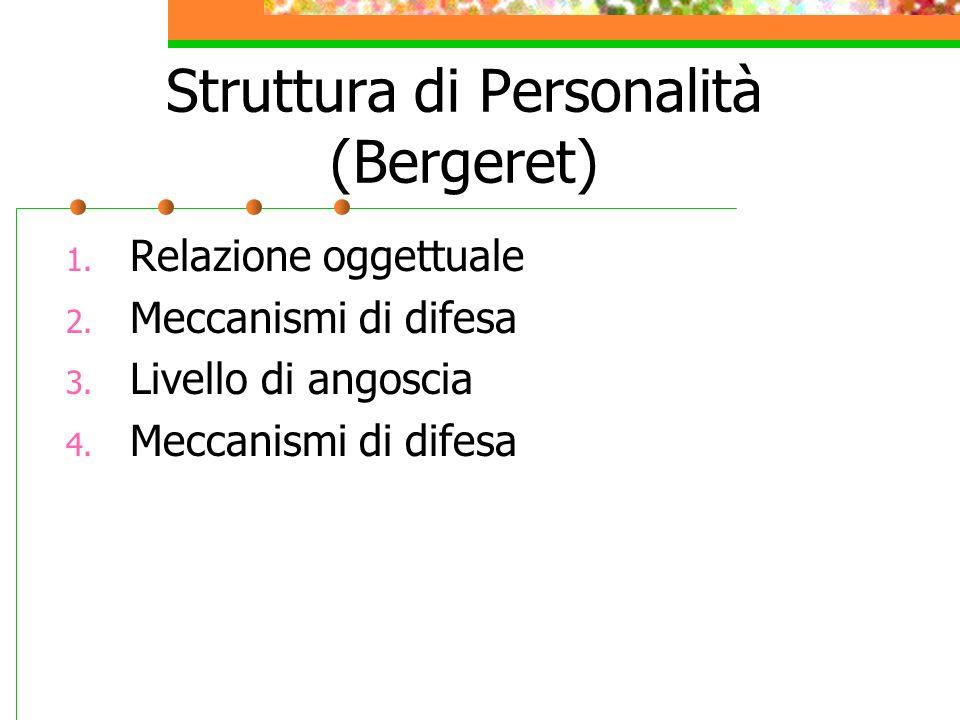 Struttura di Personalità (Bergeret)