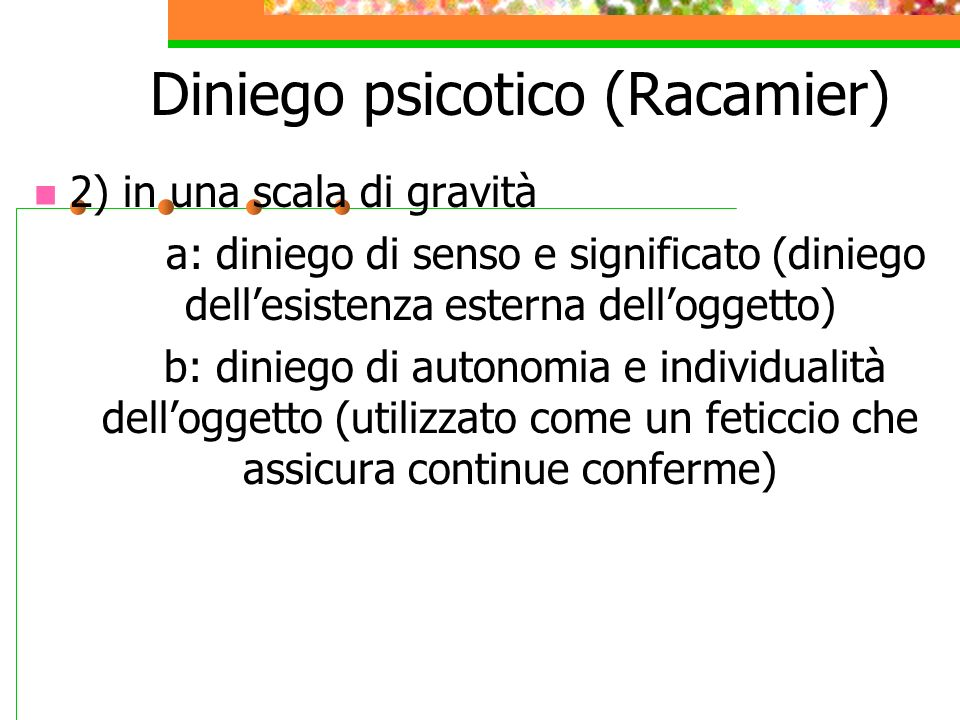 Diniego psicotico (Racamier)