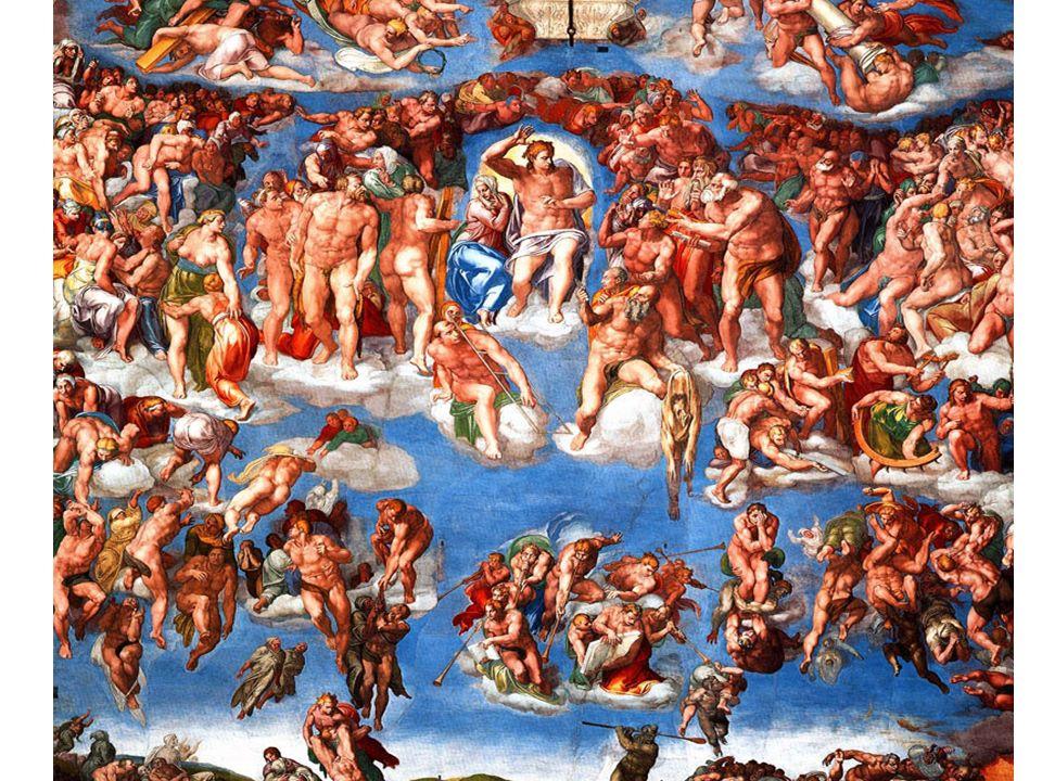 MICHELANGELO, GIUDIZIO UNIVERSALE,1540 c.