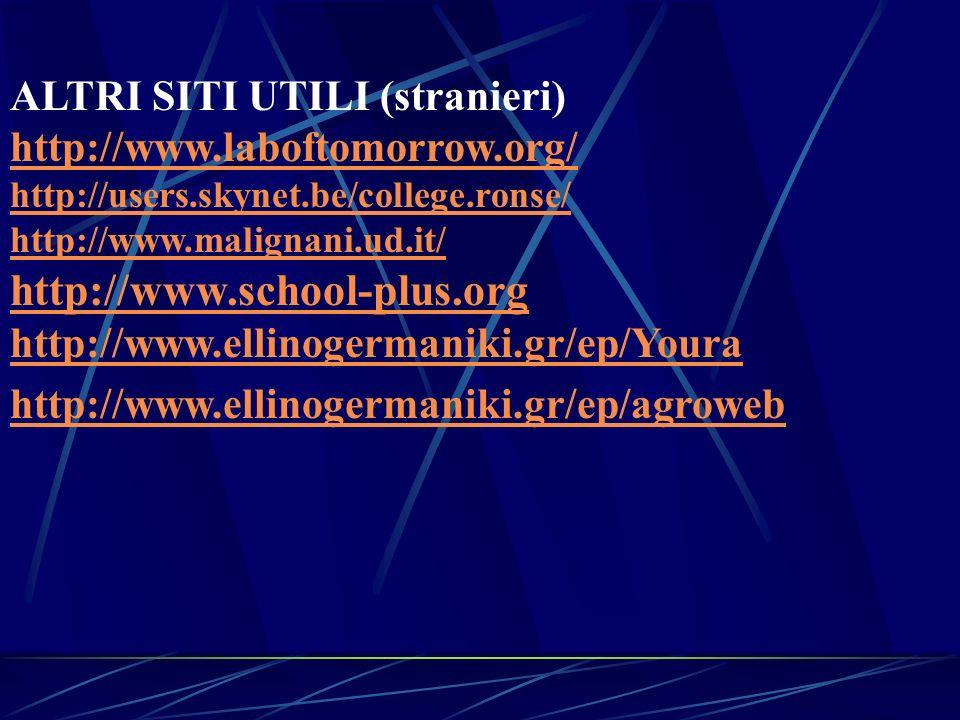 http://www.school-plus.org ALTRI SITI UTILI (stranieri)