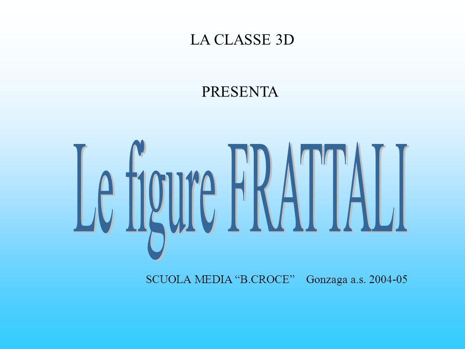 Le figure FRATTALI LA CLASSE 3D PRESENTA
