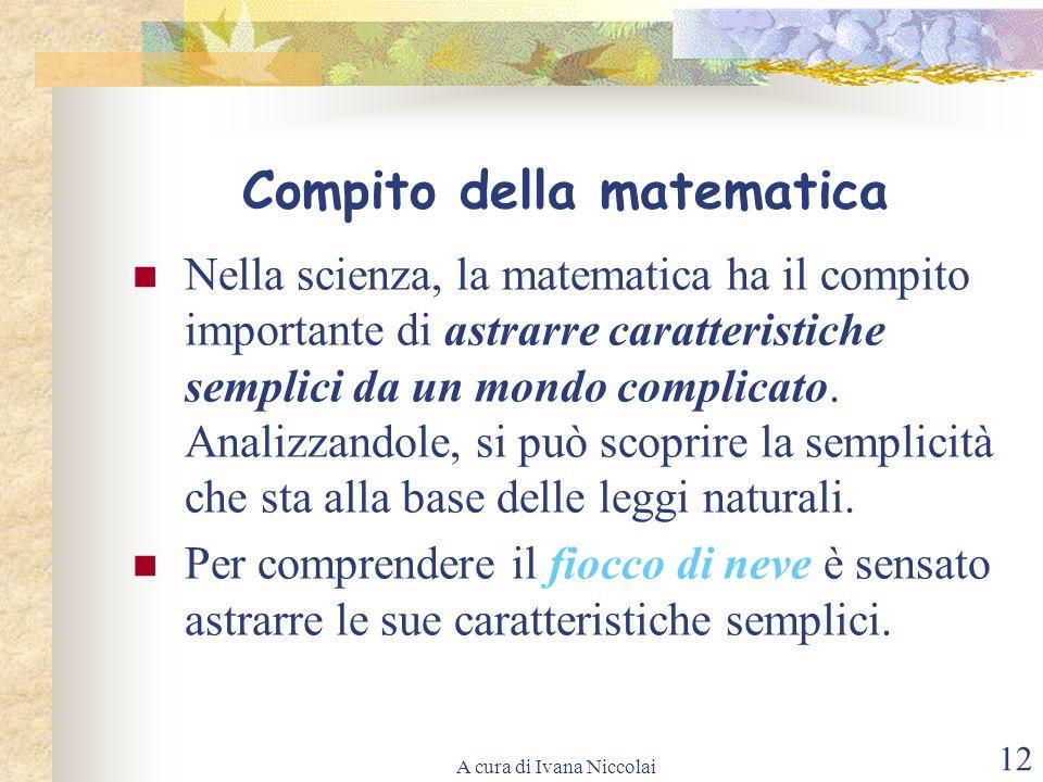 Compito della matematica