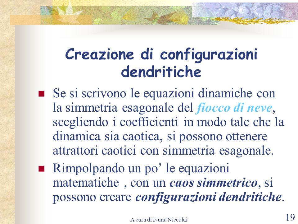 Creazione di configurazioni dendritiche