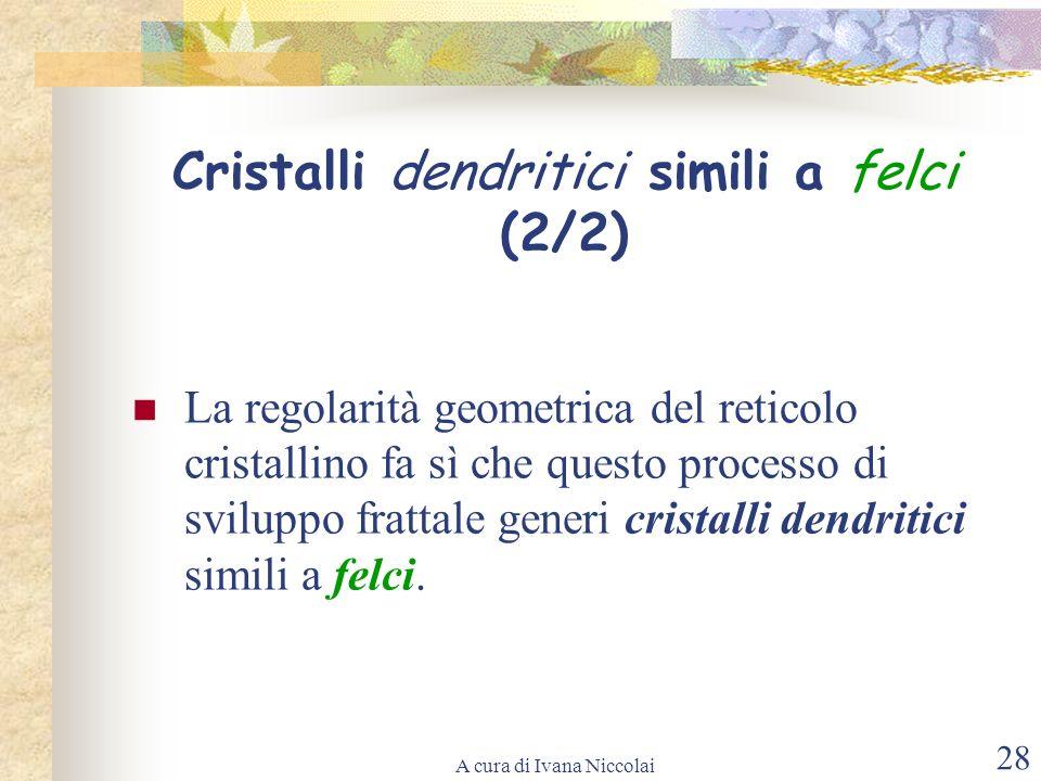 Cristalli dendritici simili a felci (2/2)