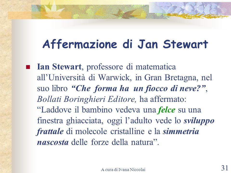 Affermazione di Jan Stewart