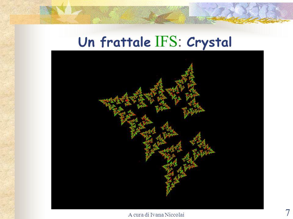 Un frattale IFS: Crystal