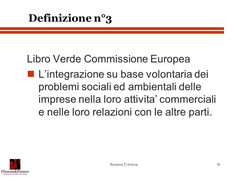 Libro Verde Commissione Europea