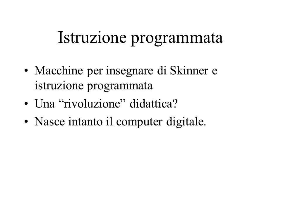 Istruzione programmata