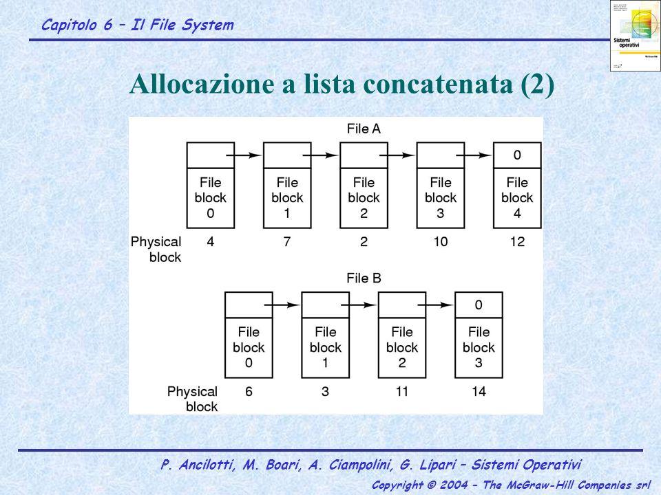 Allocazione a lista concatenata (2)