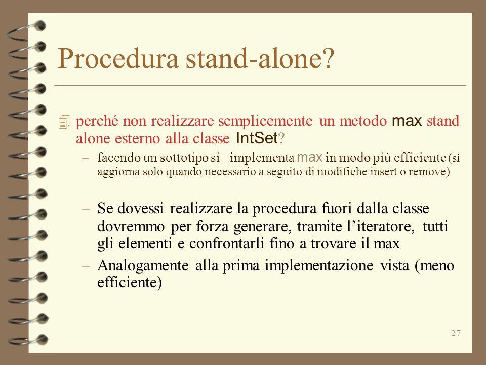Procedura stand-alone