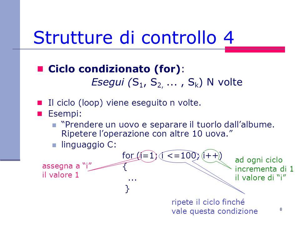 Strutture di controllo 4