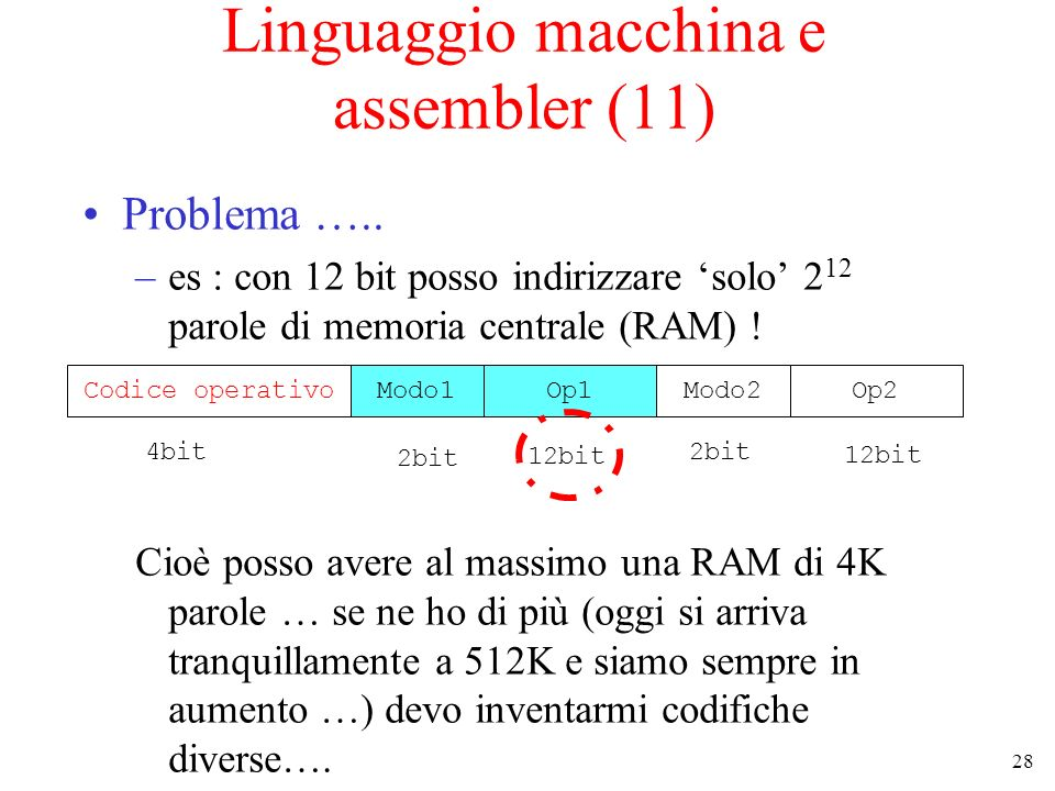 Linguaggio macchina e assembler (11)