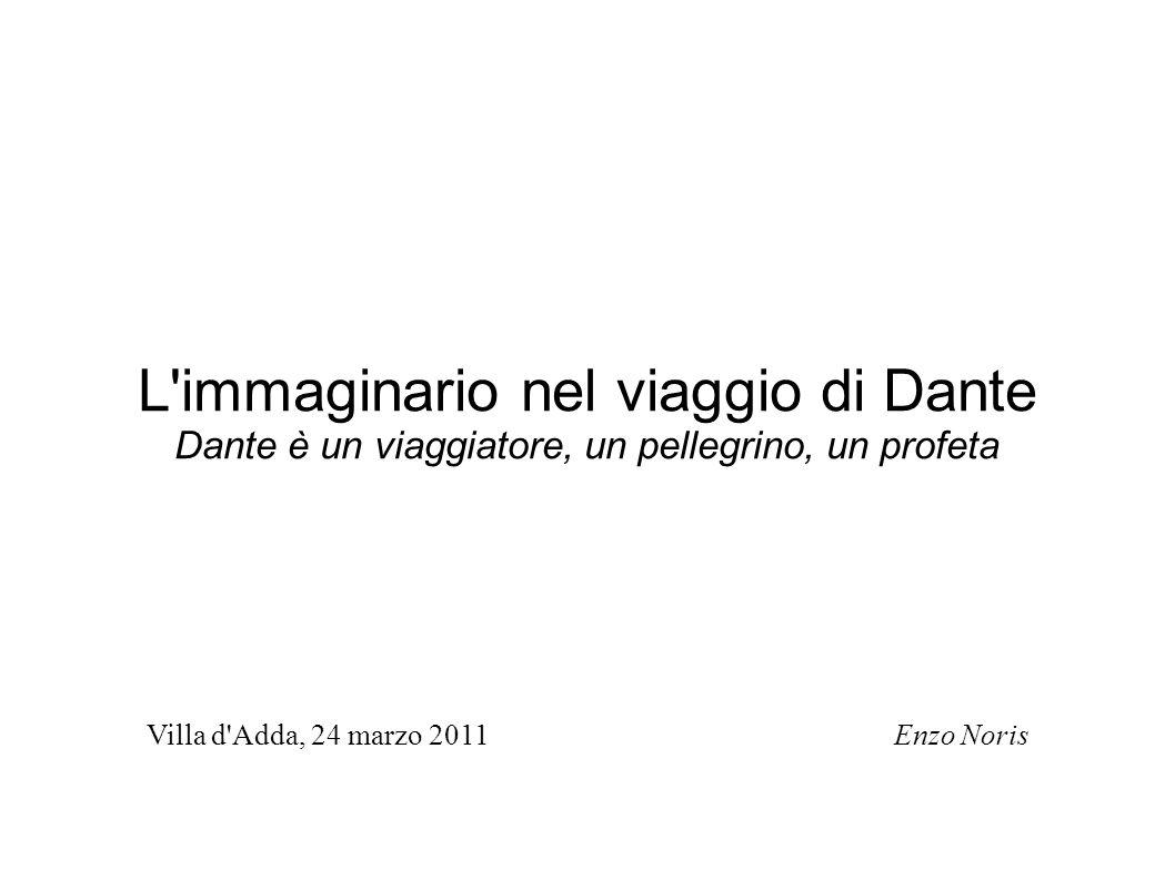 L immaginario nel viaggio di Dante