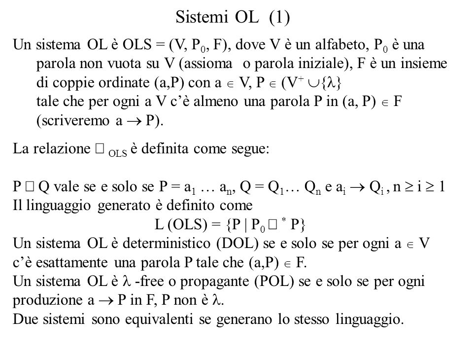 Sistemi OL (1)