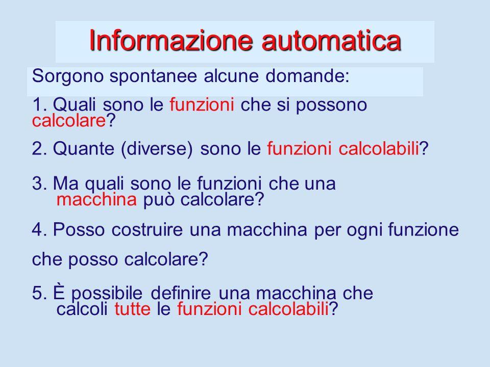 Informazione automatica