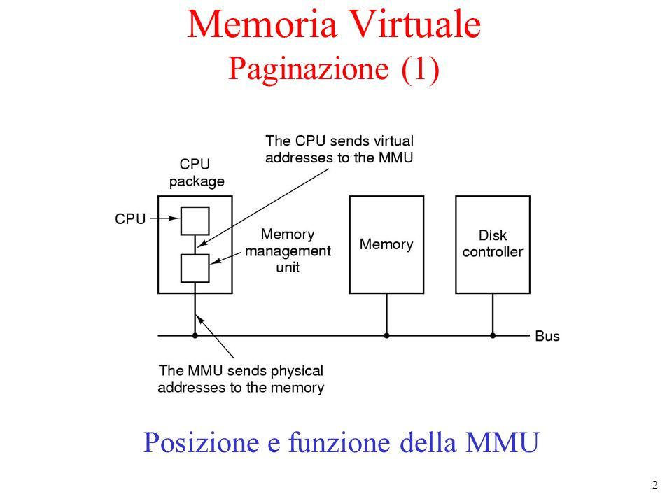 Memoria Virtuale Paginazione (1)