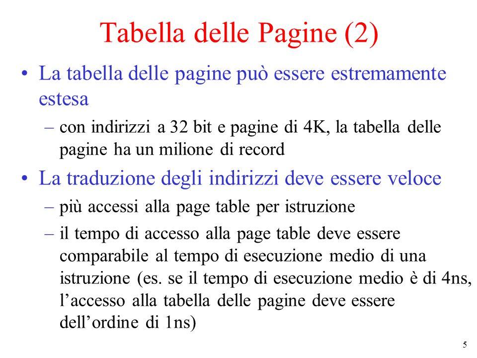 Tabella delle Pagine (2)