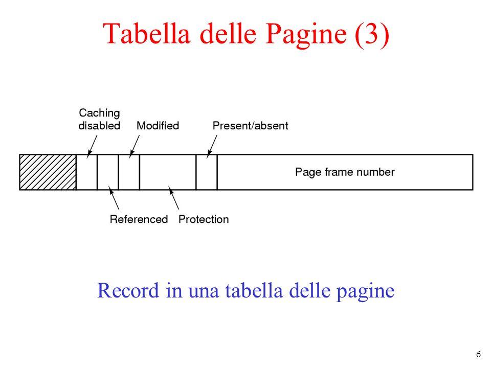 Tabella delle Pagine (3)