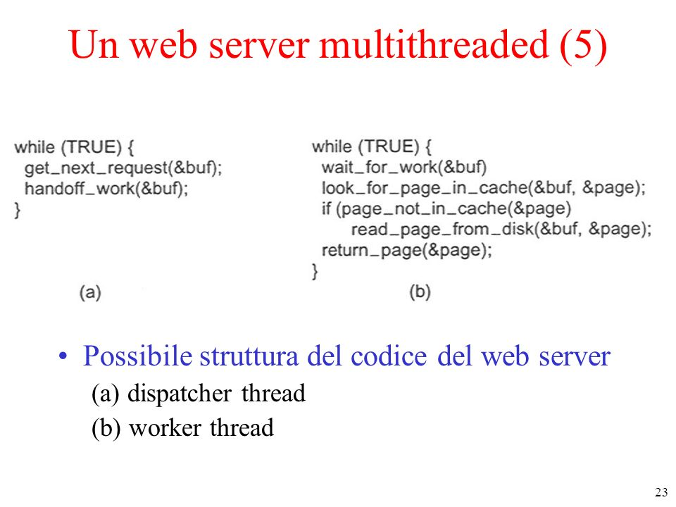 Un web server multithreaded (5)