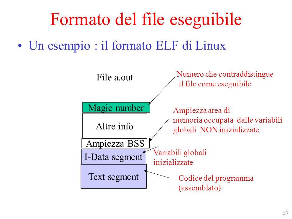 Formato del file eseguibile