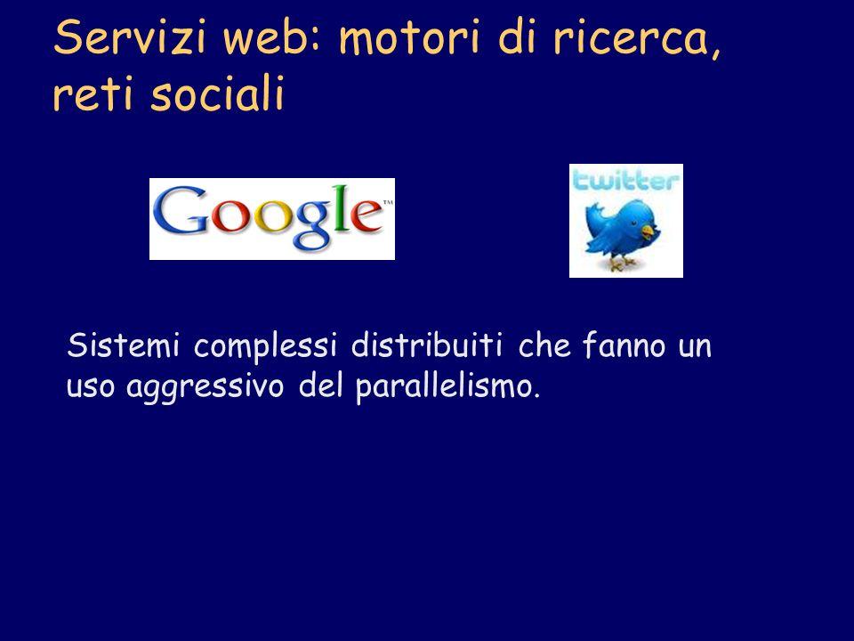 Servizi web: motori di ricerca, reti sociali
