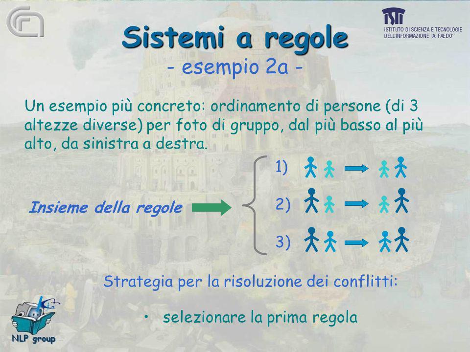 Sistemi a regole - esempio 2a -