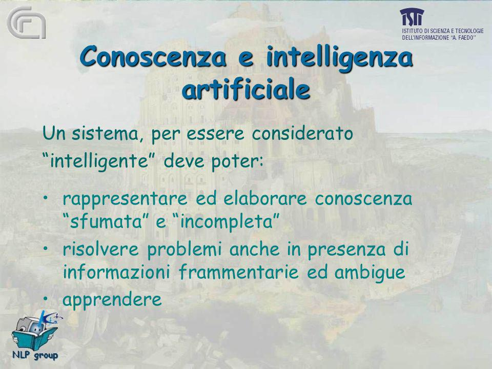 Conoscenza e intelligenza artificiale