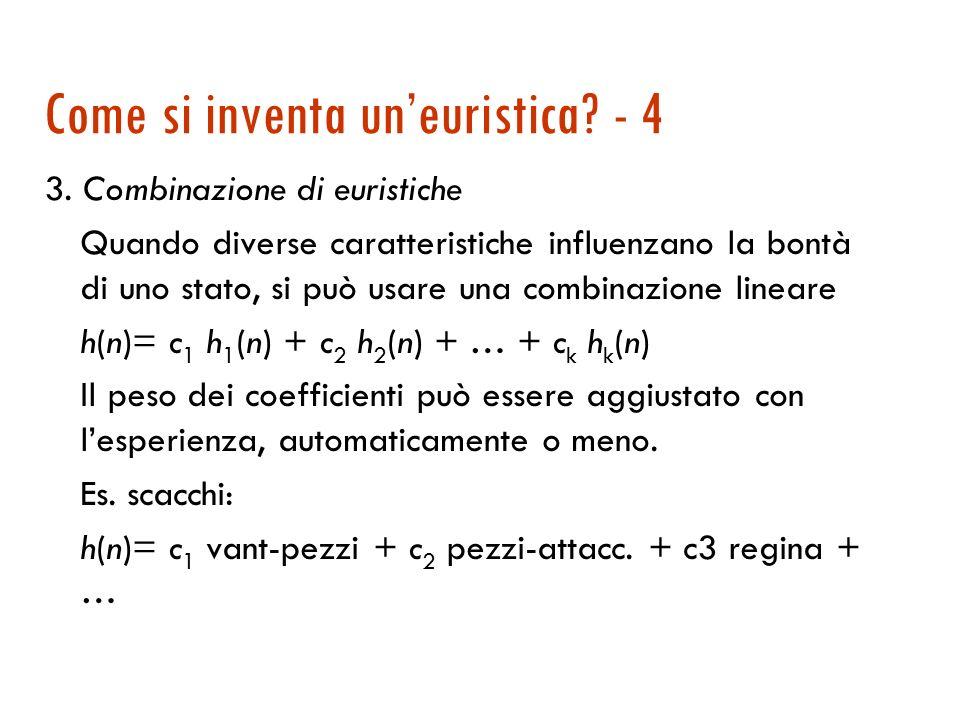 Come si inventa un'euristica - 4