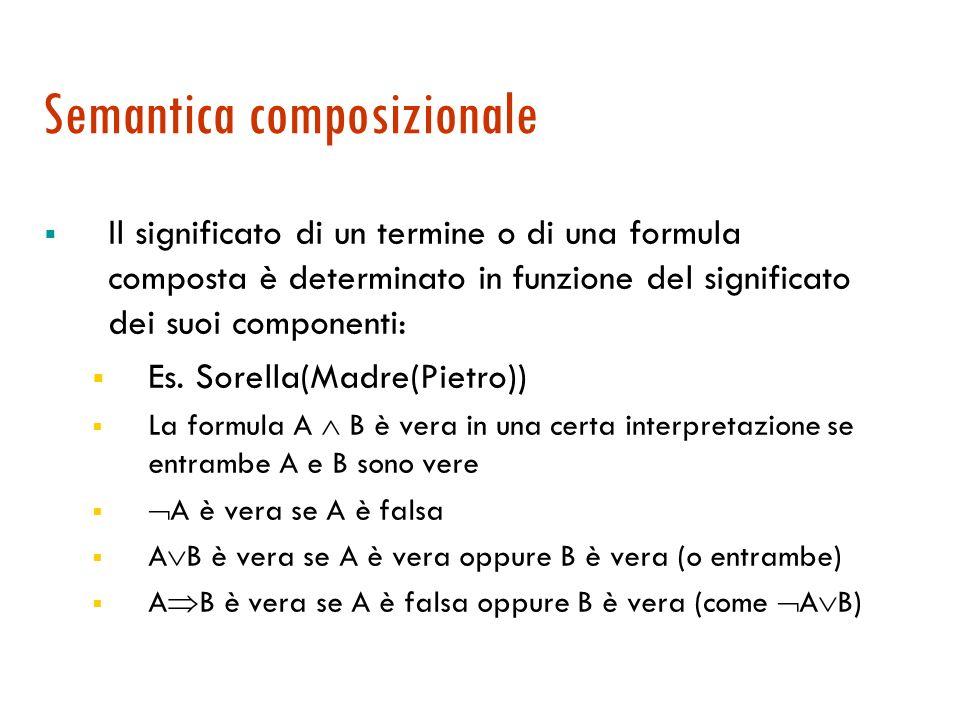Semantica composizionale