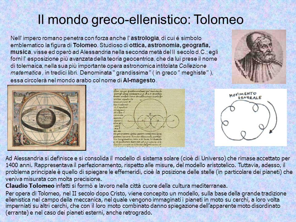 Il mondo greco-ellenistico: Tolomeo