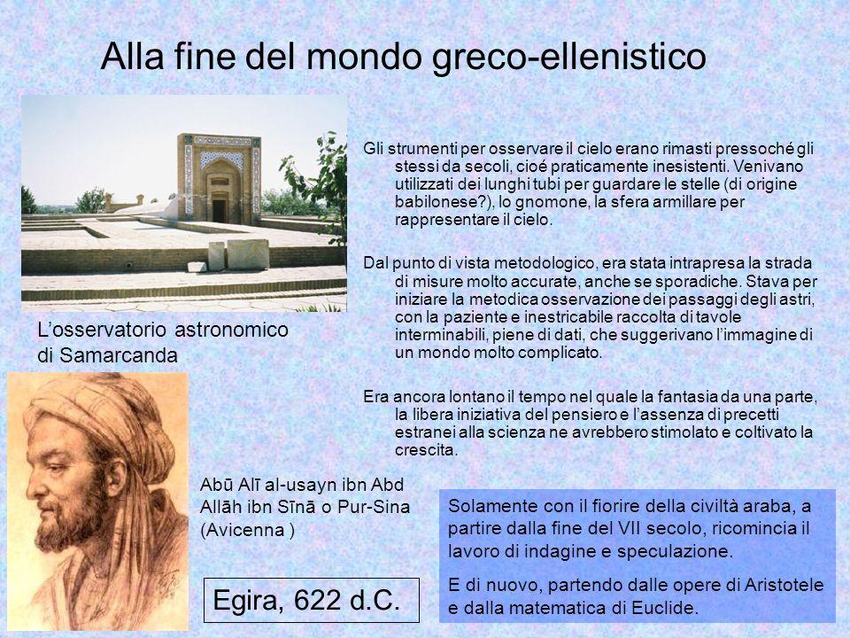 Alla fine del mondo greco-ellenistico