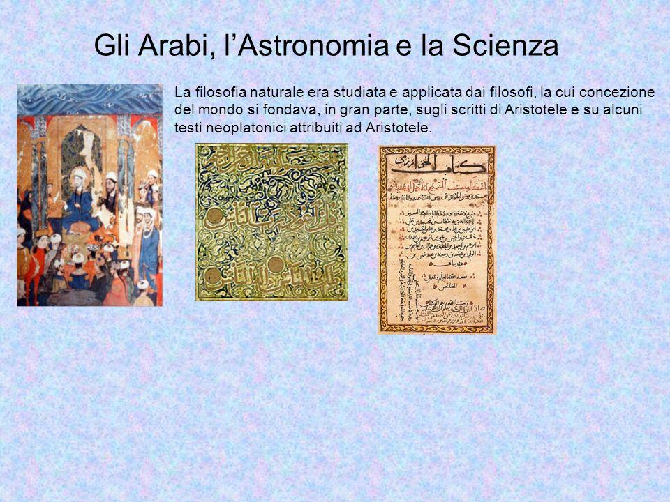 Gli Arabi, l'Astronomia e la Scienza