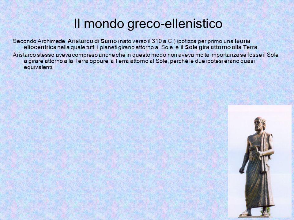 Il mondo greco-ellenistico