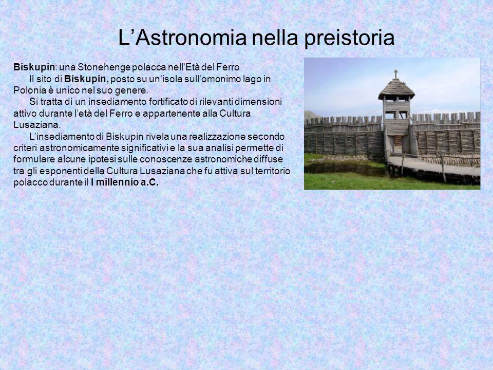 L'Astronomia nella preistoria
