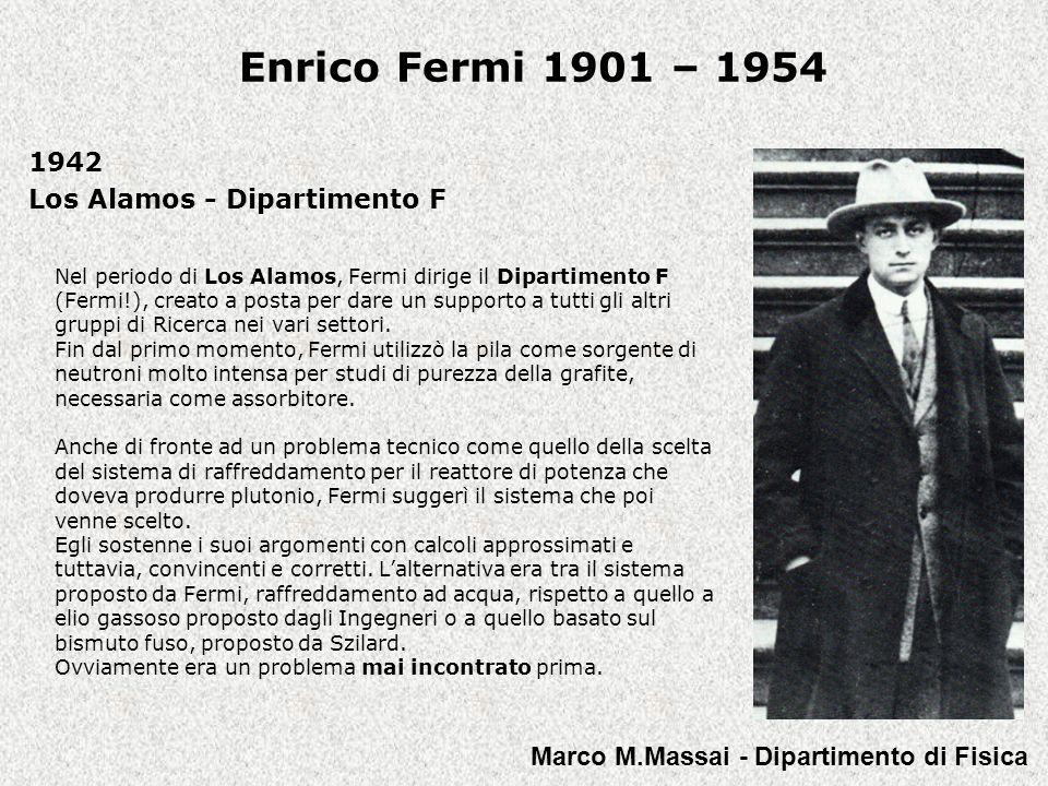 1942 Los Alamos - Dipartimento F