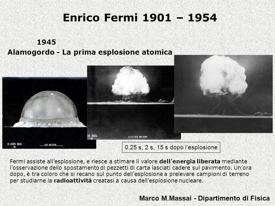 1945 Alamogordo - La prima esplosione atomica