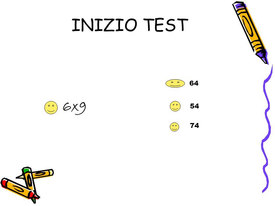 INIZIO TEST 64 6x9 54 74